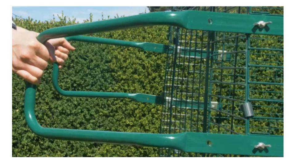 Eglu Cube Hand Rails