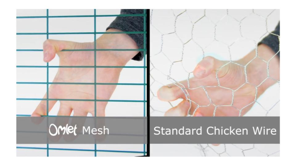 Eglu heavy duty mesh